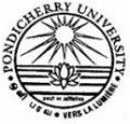 pondicherry university recruitment
